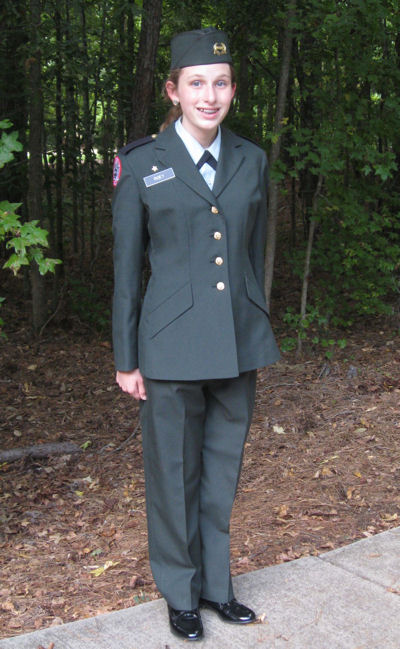 Private Emma had nothing nice to say about ROTC at Jackson County Comprehensive High School.