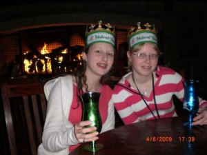 Emma and Kayla Benified Weaver when Kayla's grandparents (the grandfather Emma claimed was a racist as well as a Nazi Sympathizer) took the girls to Medieval Times.
