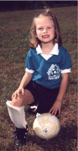 Emma played soccer with the Jackson County Recreation Department in preschool.  Emma Roey, Emma Kate Roey, Emma Katherine Roey