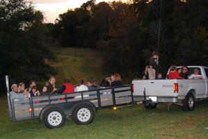 Church Hay Ride 2009.